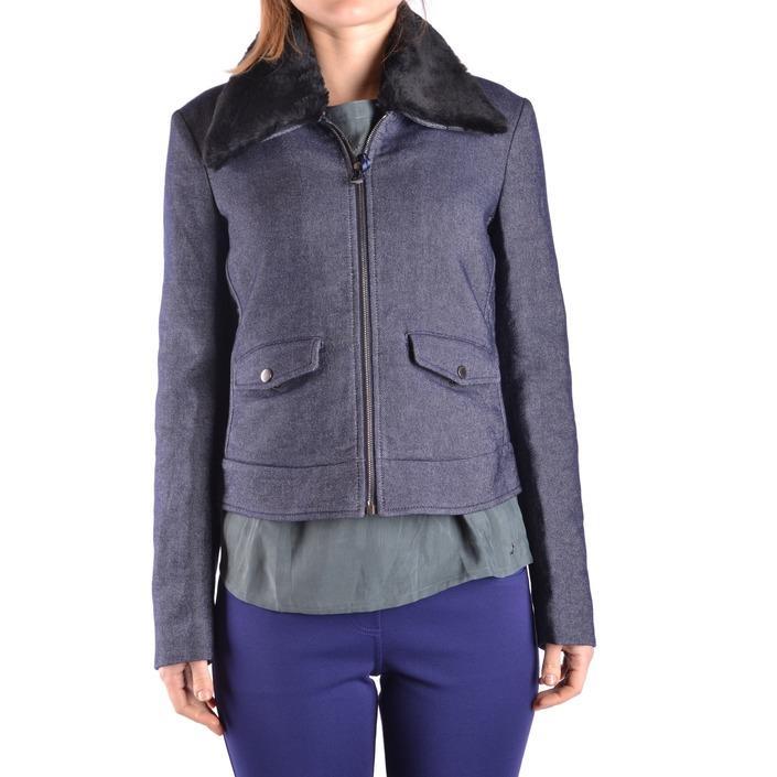 Jacob Cohen Women's Jacket Blue 162528 - blue 40