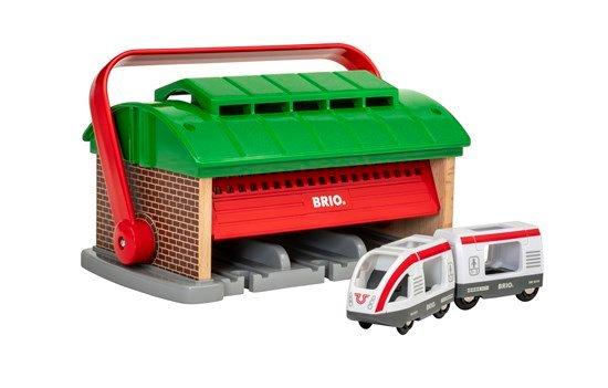 BRIO - Train Garage with Handle (33474)