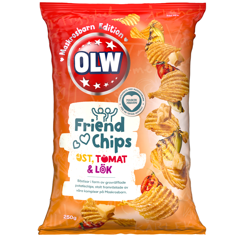 Chips Ost, Tomat & Lök - 32% rabatt