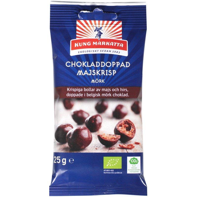 Eko Chokladdoppad Majskrisp Mörk 25g - 44% rabatt