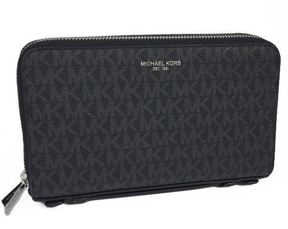 Michael Kors Women's Gifting Money Bag Wallet Black MK30316