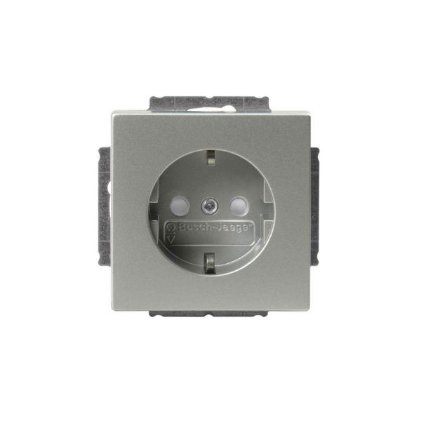 ABB 20 EUC-83 Vegguttaksinnsats 1-veis Aluminium