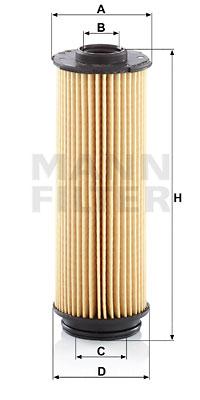 Öljynsuodatin MANN-FILTER HU 6022 z