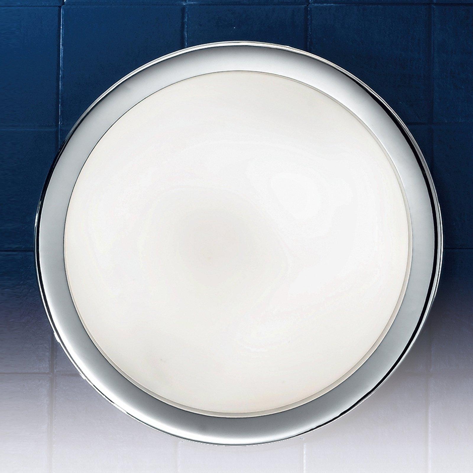 Diskret MINEA taklampe Ø 32 cm i krom