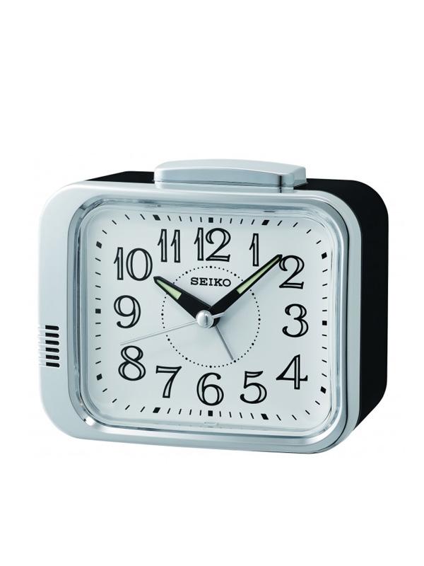 Seiko Alarm Clock 9x11x7cm qhk049s