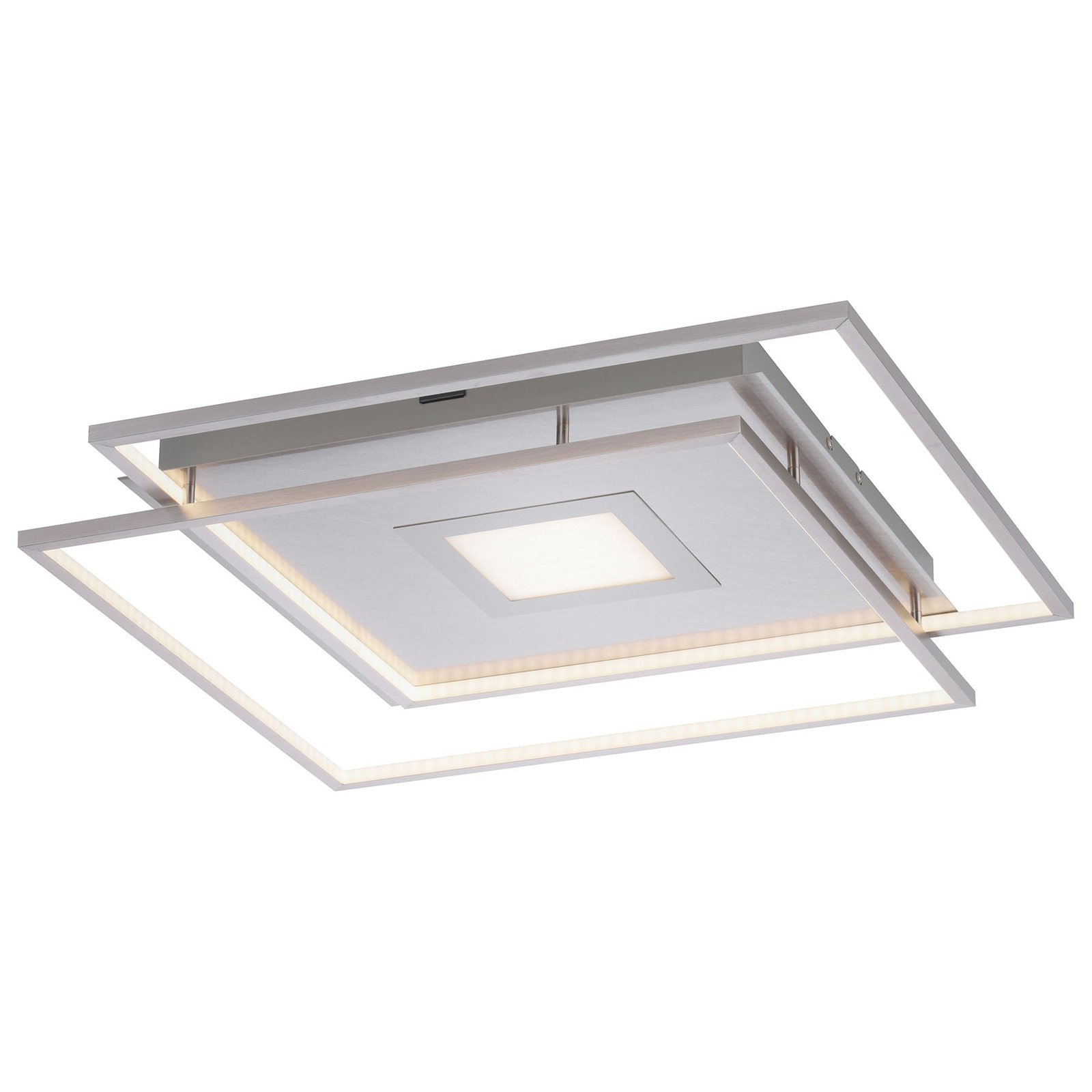 Paul Neuhaus Q-AMIRA LED-taklampe sølv