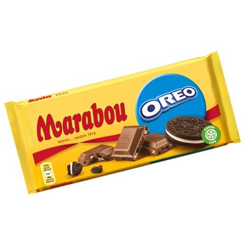Marabou Mjölkchoklad med Oreo 185 gr