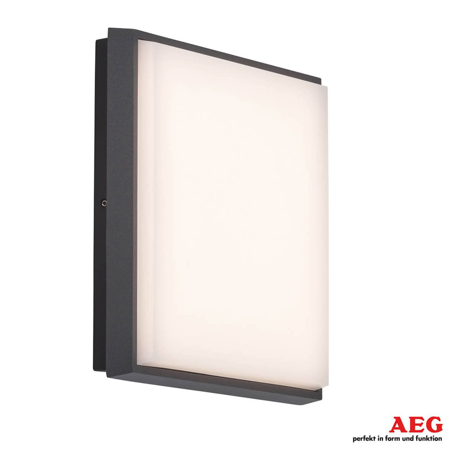 Lyssterk LED-utevegglampe Letan Square - 23 W