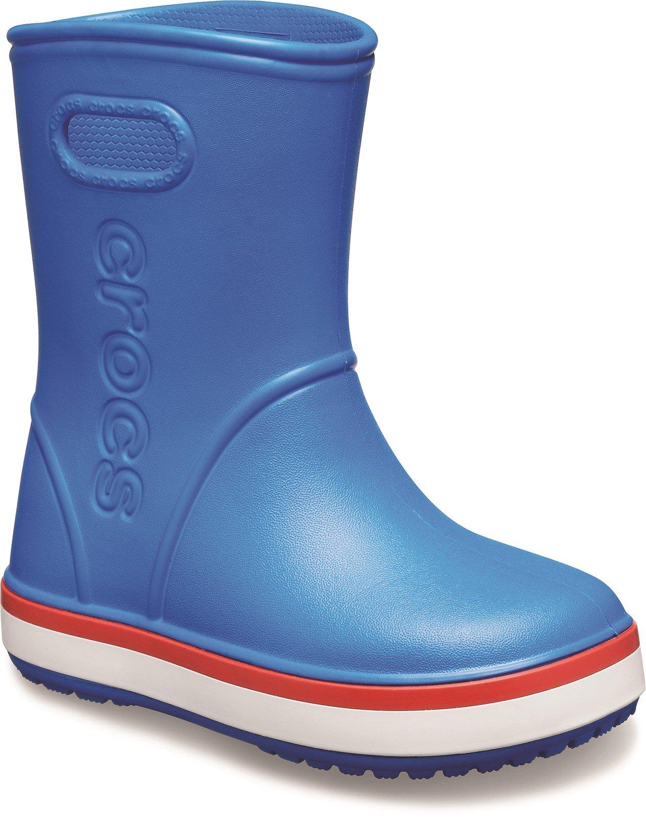 Crocs Kid's Rainboot Pull On Wellington Boot 31461 - Mid Blue 6