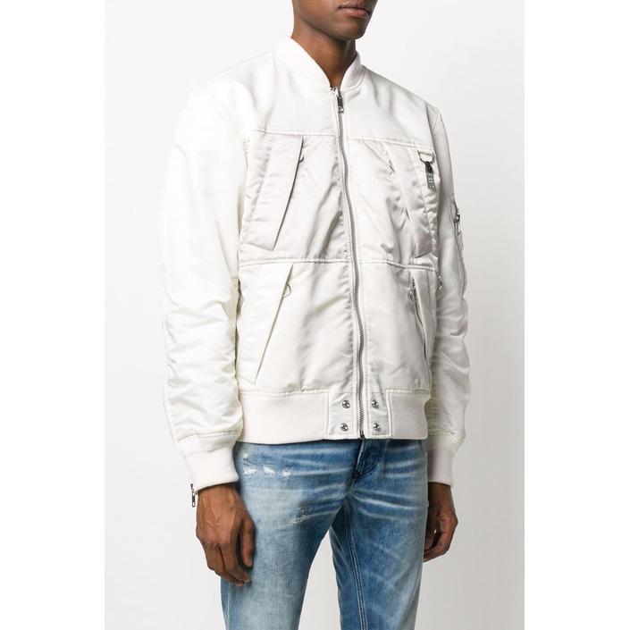 Diesel Men's Jacket White 320374 - white S