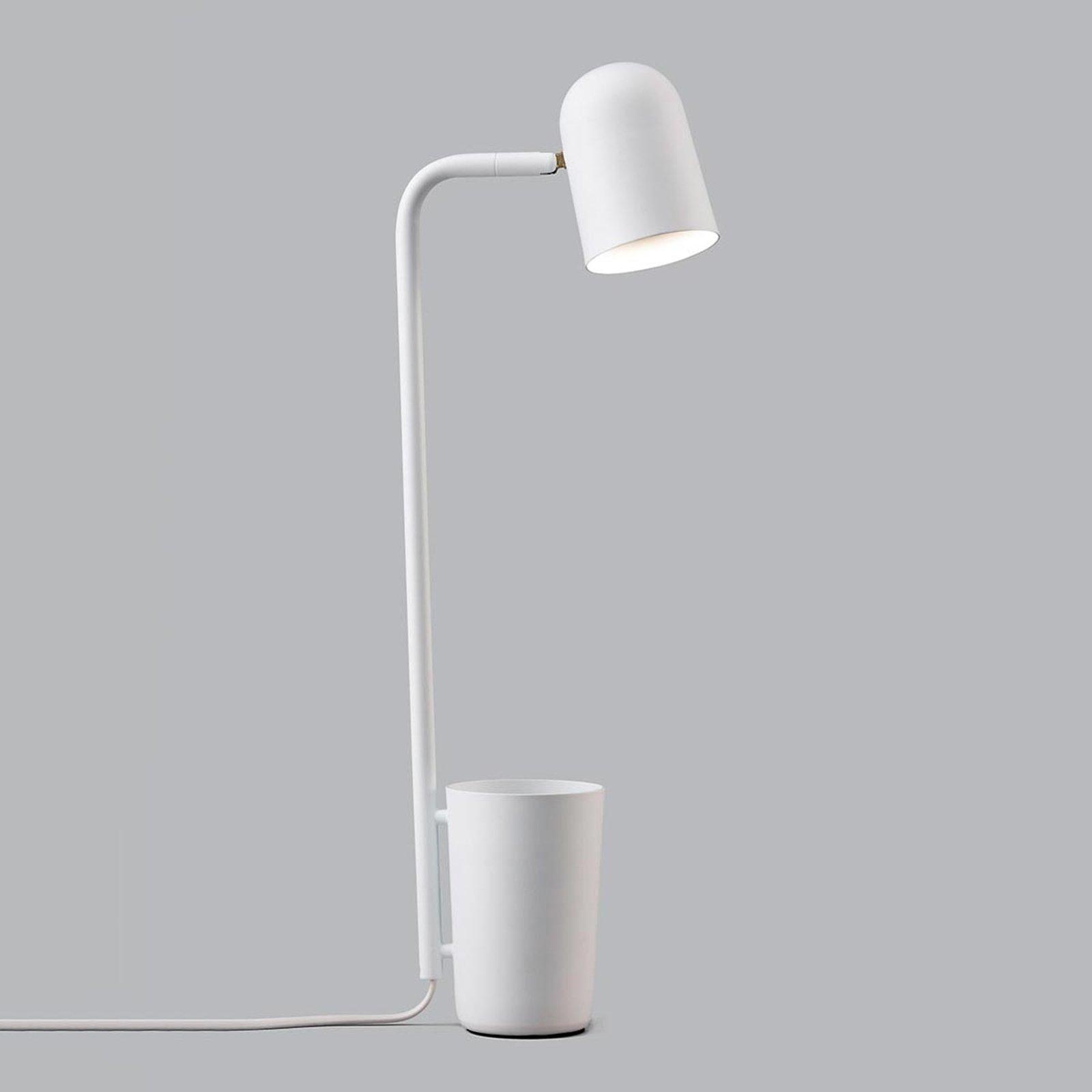 Designer-skrivebordslampe Buddy, hvit