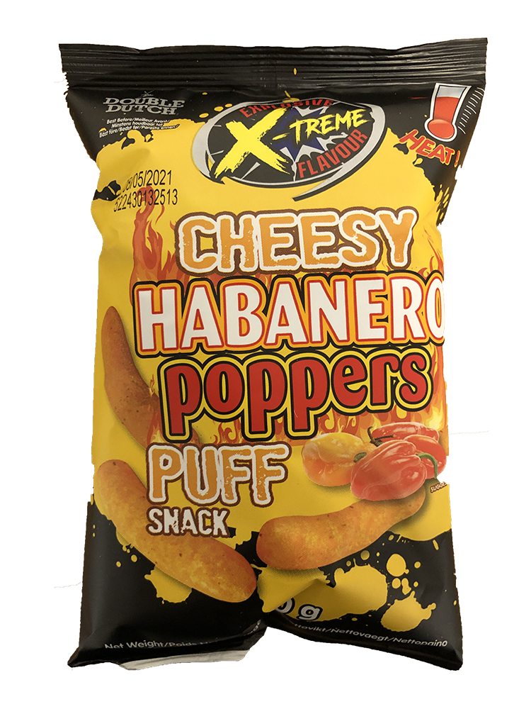 Double Dutch Habanero Cheese Poppers 40g