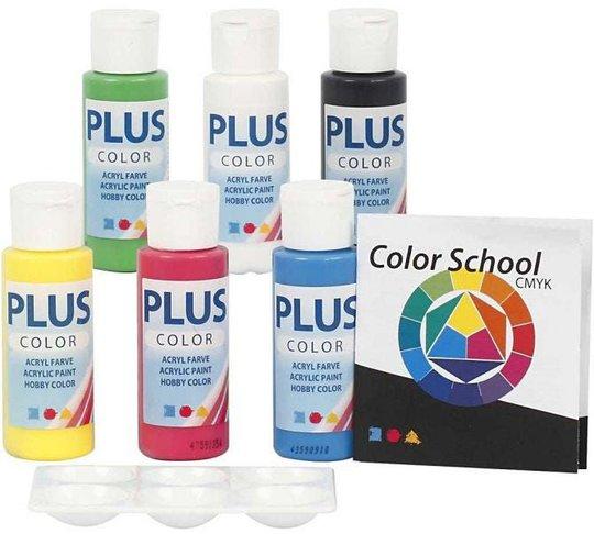 Plus Color Plus Color Hobbymaling Primærfarger