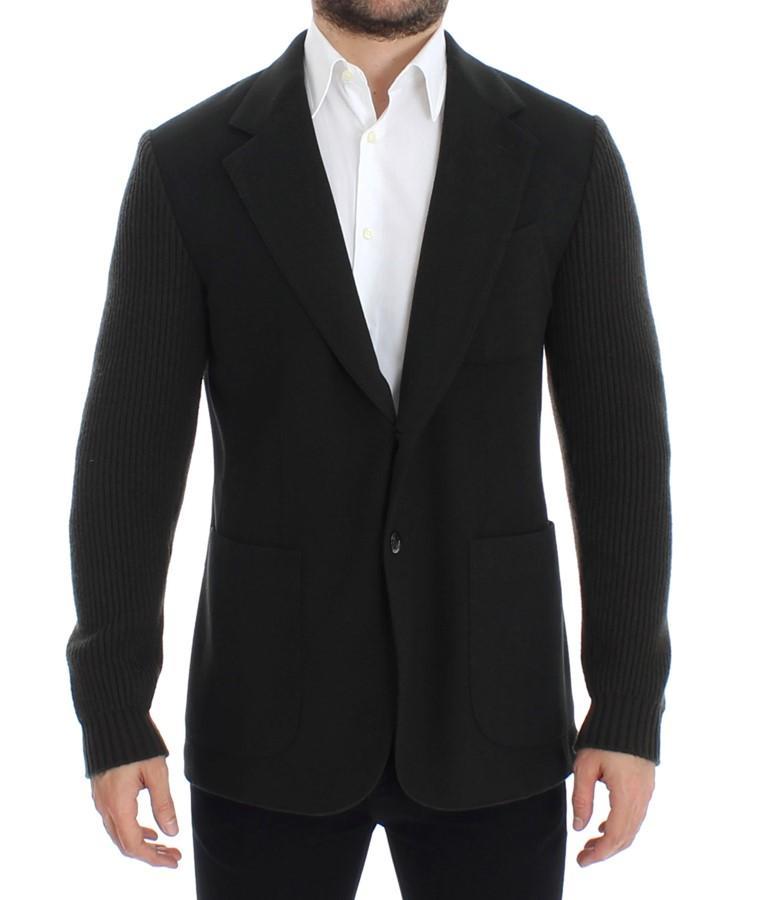 Dolce & Gabbana Men's cashmere two button Blazer Green SIG12256 - IT48   M