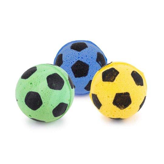 Little&Bigger Pure Purr Soft Fotbollar 3-pack