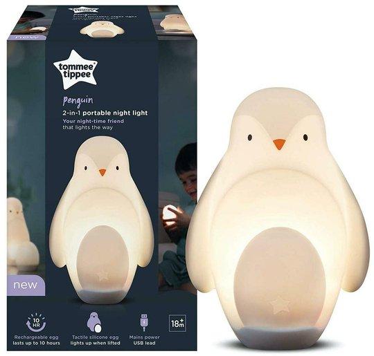 Tommee Tippee Portabel Nattlampe Pingvin