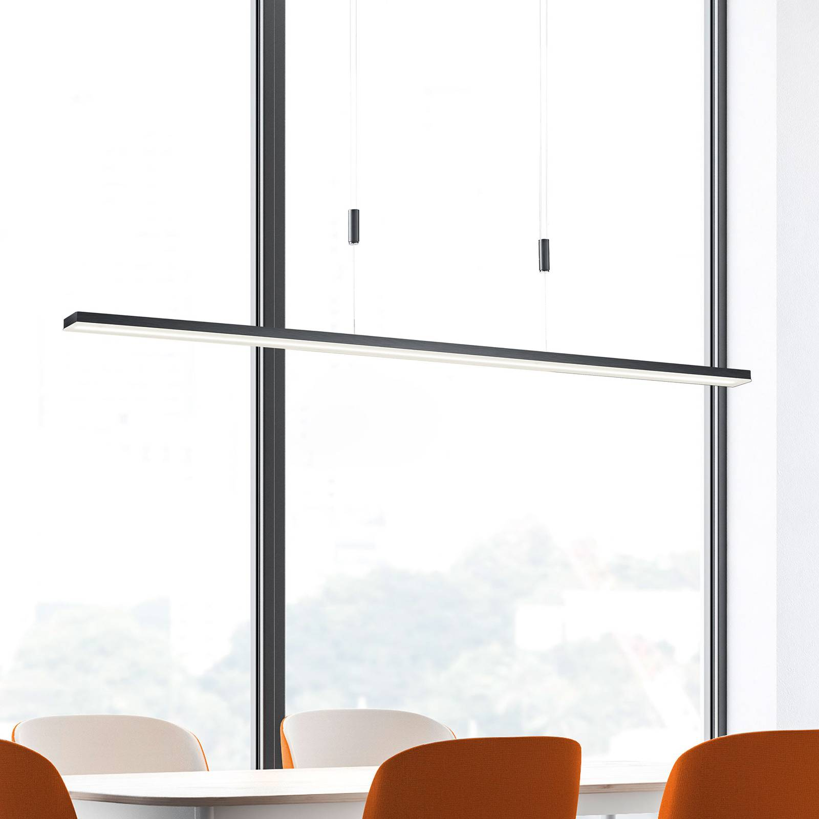 Bopp Baseline -LED-riippuvalaisin alumiinia