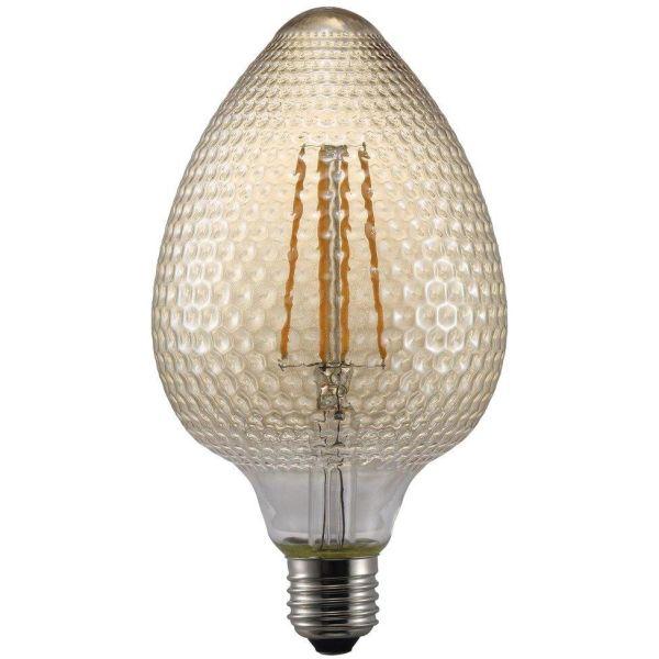 Nordlux AVRA Nut Amber LED-filamenttilamppu E27