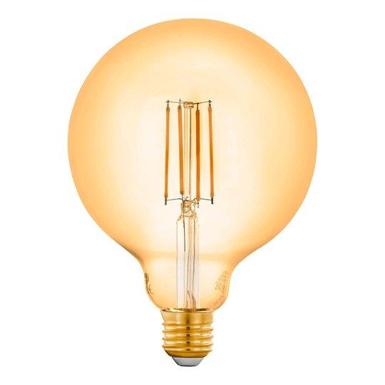 EGLO connect E27 6W-globe-lamppu G125 amber 2200 K