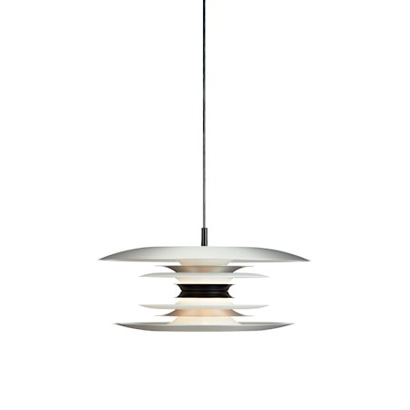 Diablo Pendel Matt Alu/Mattsvart LED 40 cm