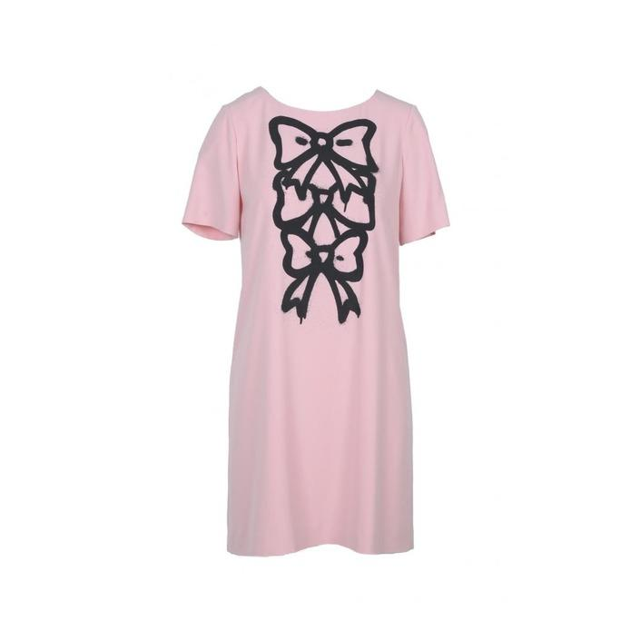 Boutique Moschino Women's Dress Pink 171292 - pink 40