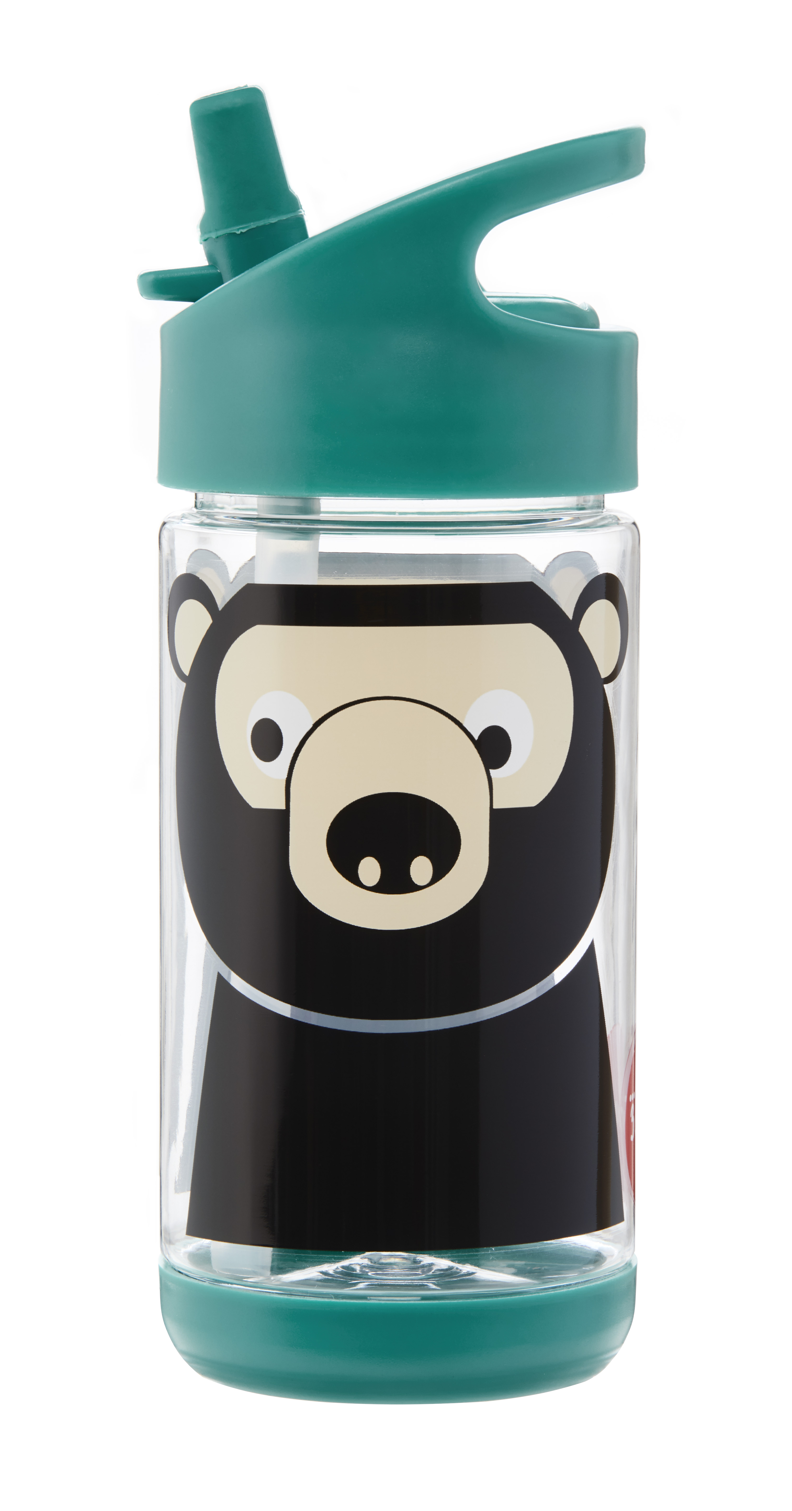 3 Sprouts - Water Bottle - Teal Bear