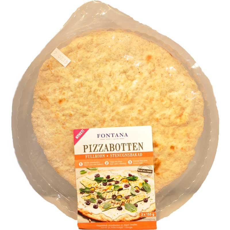 Pizzabotten fullkorn 24cm - 88% rabatt