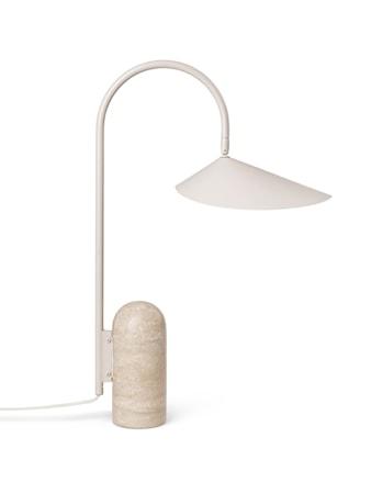 Arum Table Lamp - Cashmere