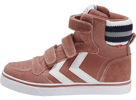 Hummel Stadil Pro Jr Sneaker, Gammelrosa, 26