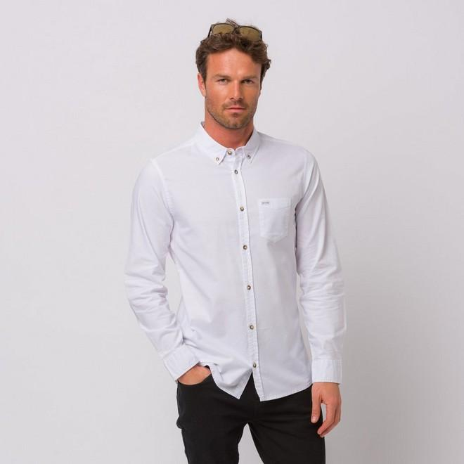Animal Clothing Men's Robbie Shirt Various Colours 5054569924548 - M White