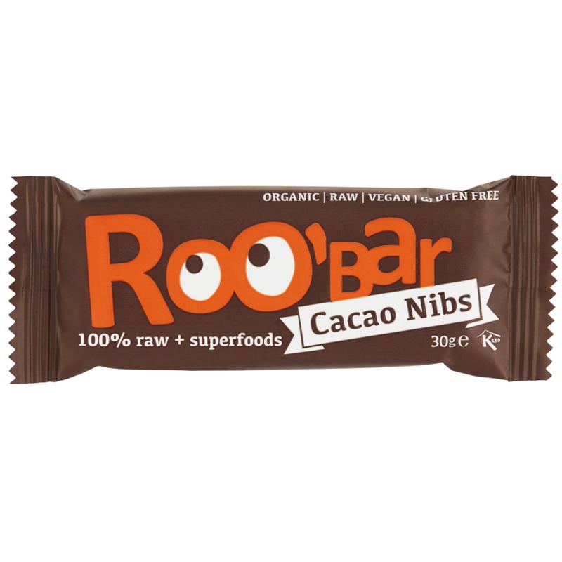 "Rawbar ""Cacao Nibs"" 30g - 56% rabatt"