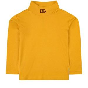 Dolce & Gabbana DG Logo Polotröja Gul 5 år
