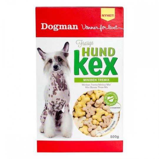 Dogman Miniben Tremix Vaniljsmak 500 g