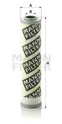 Suodatin, työhydrauliikka MANN-FILTER HD 517/1 x