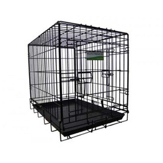 Pluto Premium Travel Cage Black (Large)