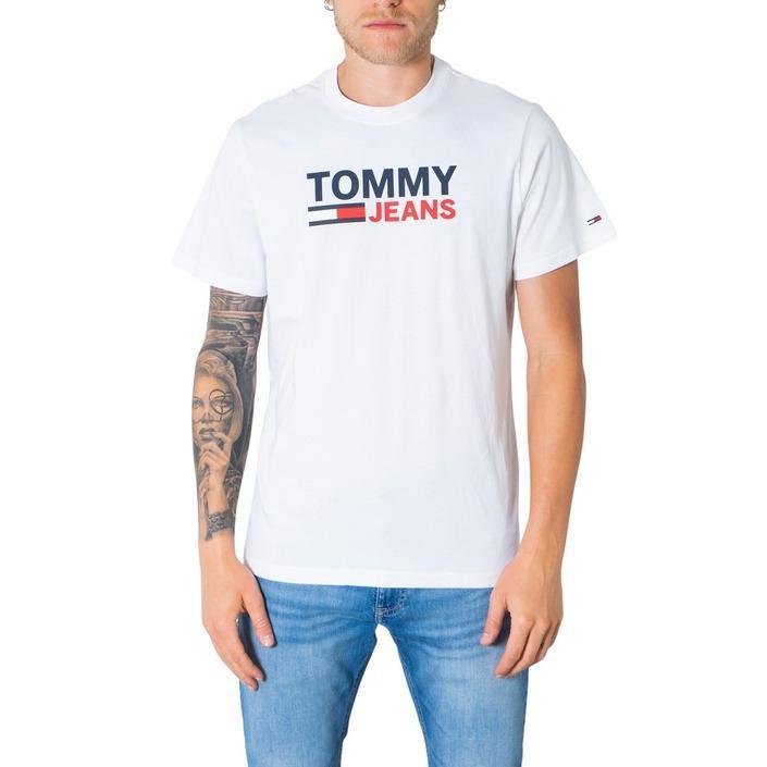 Tommy Hilfiger Jeans Men's T-Shirt Various Colours 304989 - white S