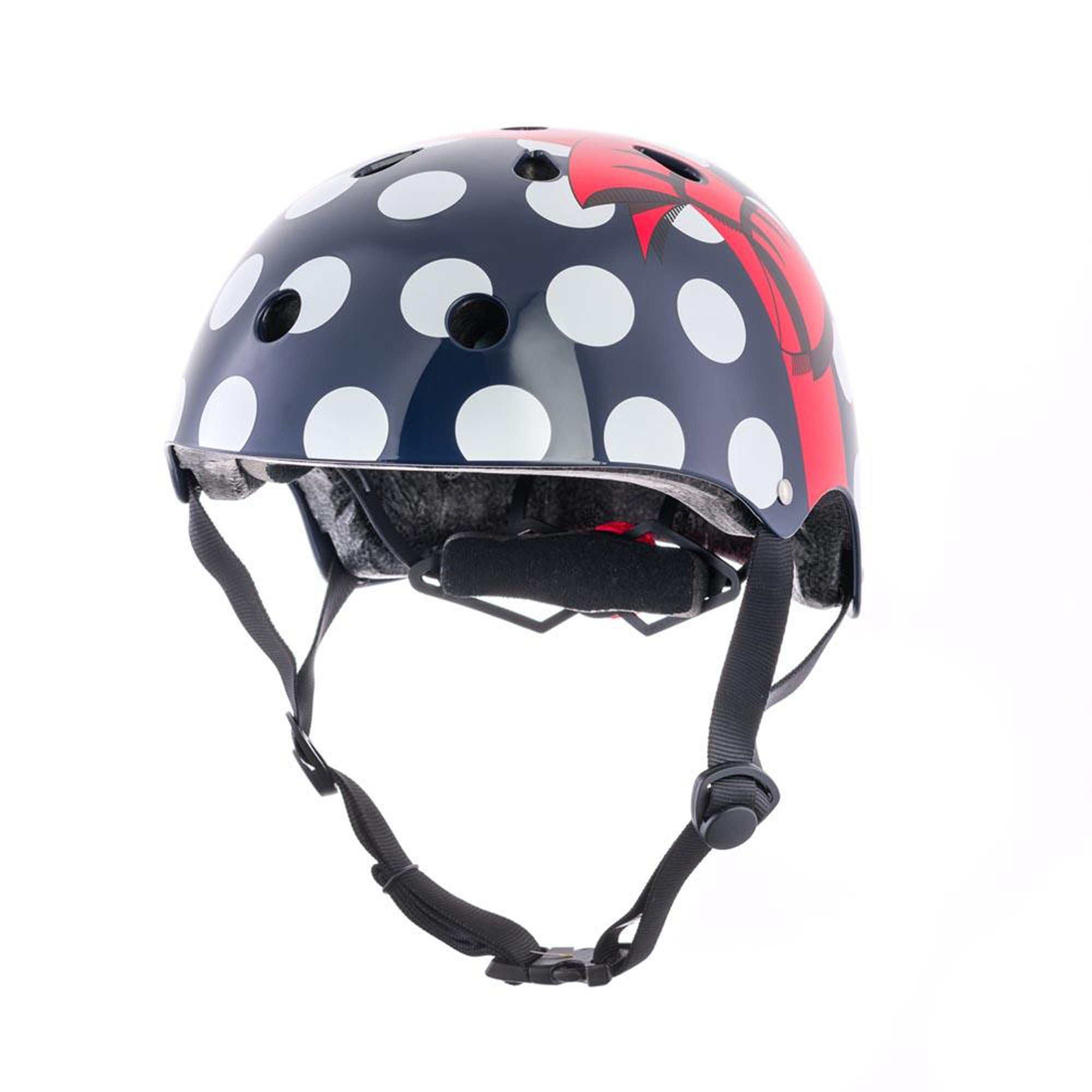 Hornit Polka Dot Cykelhjälm 48-53 Cm, Blå