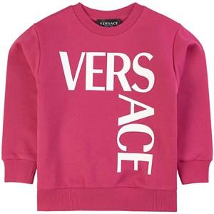 Versace Logo Sweatshirt Rosa 4 år