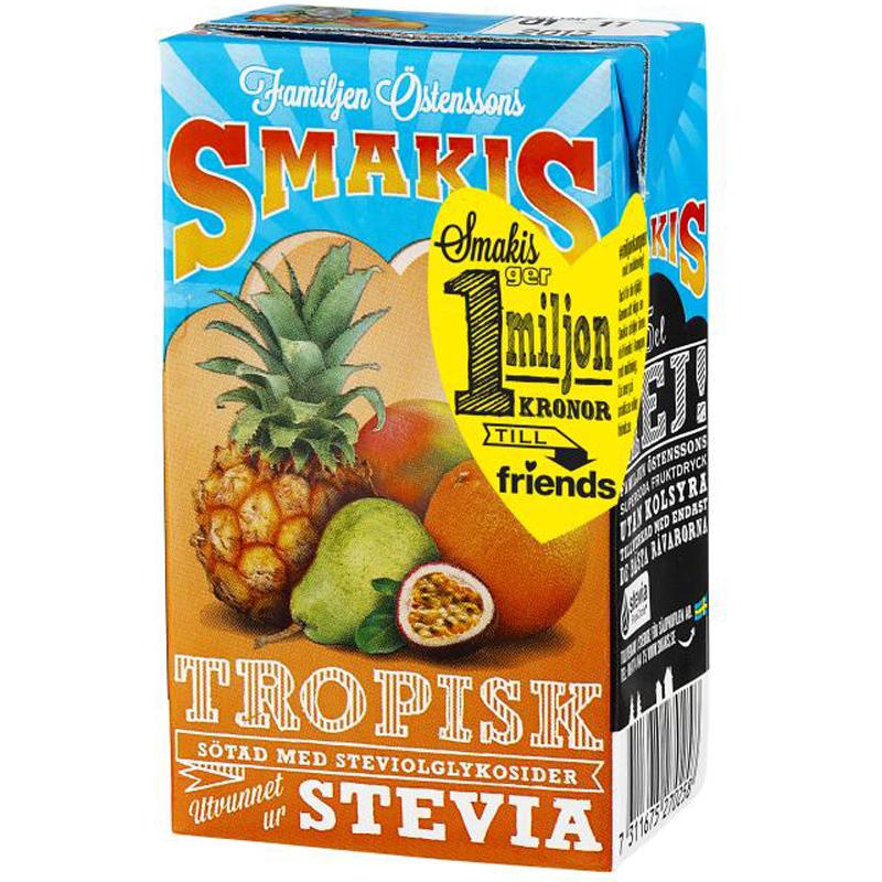 Fruktdryck Tropisk 25cl - 21% rabatt