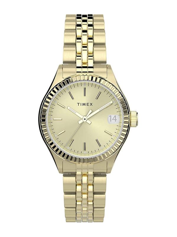 TIMEX Waterbury Legacy Date TW2T86600 - Damklocka i guld