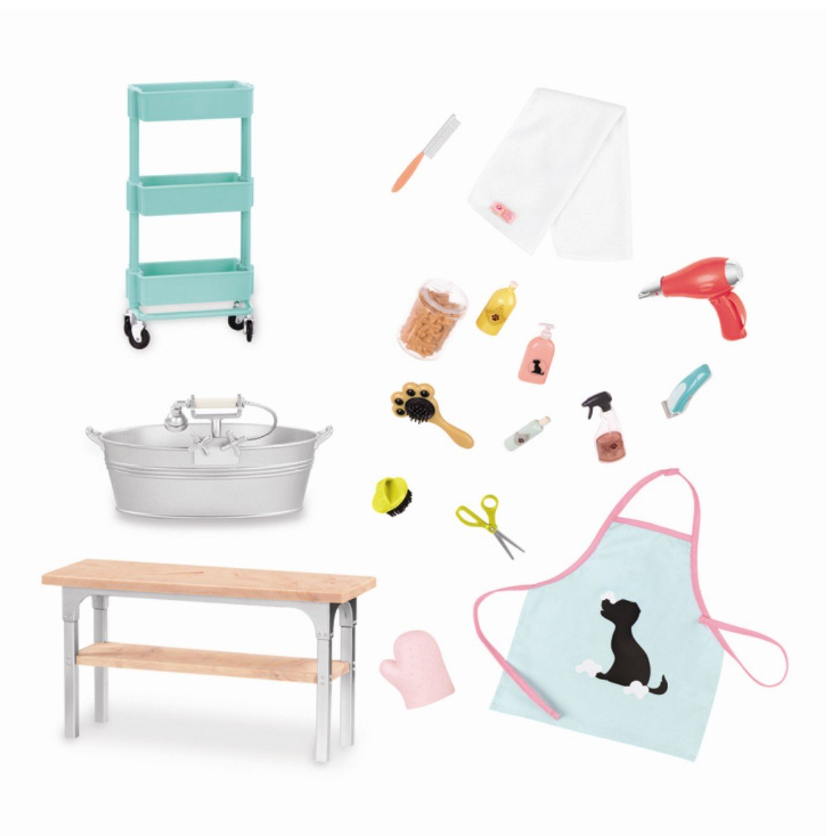 Our Generation - Pet Grooming Set (737990)