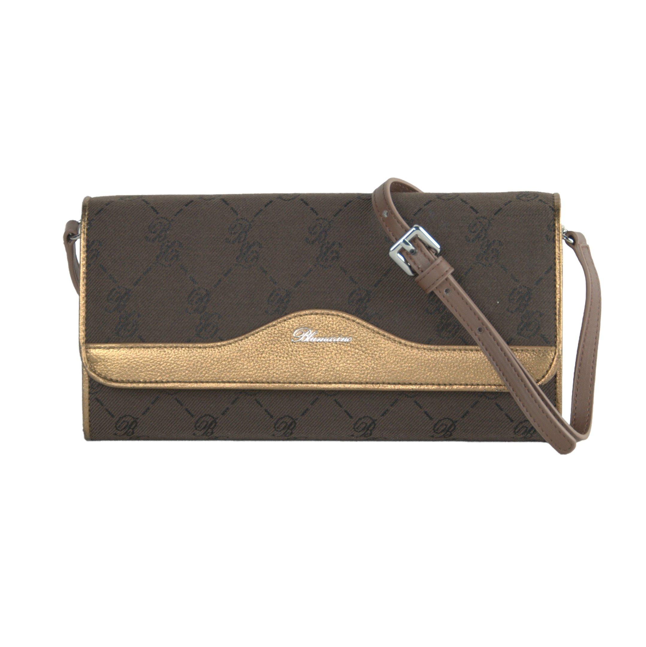 Blumarine Women's Clutch Bag Brown BL1421375