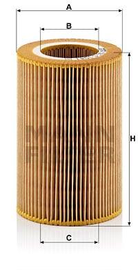 Ilmansuodatin MANN-FILTER C 1041