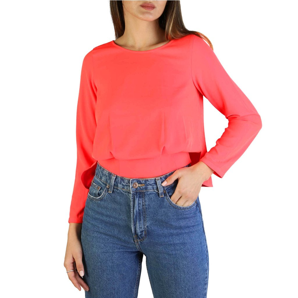 Armani Exchange Women's Shirt Red 3GYH24_YNJNZ - red M