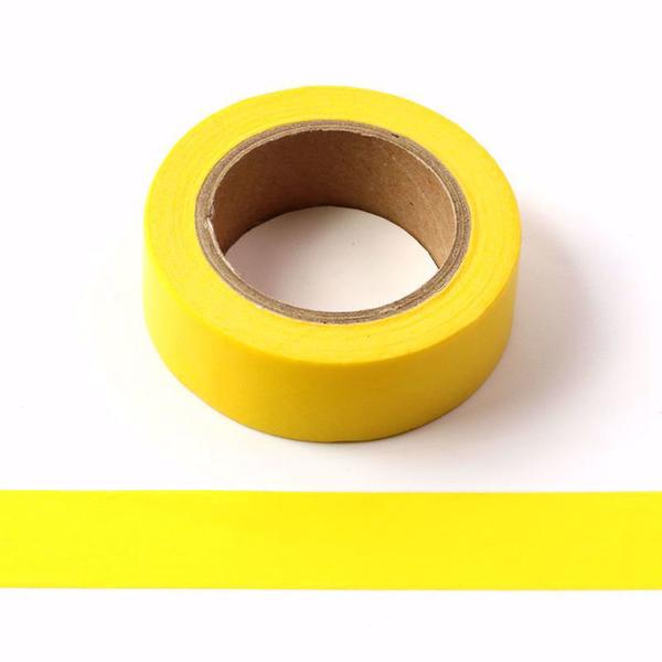 Bright Yellow Washi Tape