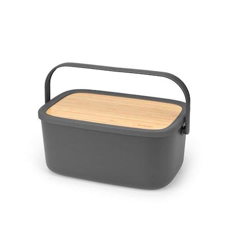 Nic Brødboks Mørkegrå