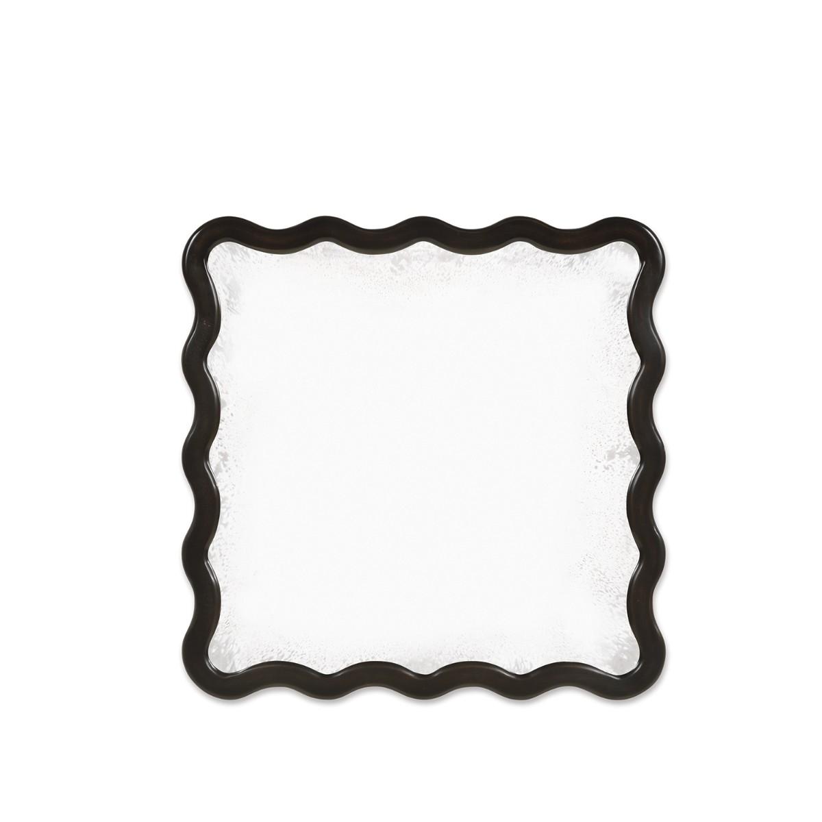 William Yeoward | Keste Square Mirror Faux Bronze