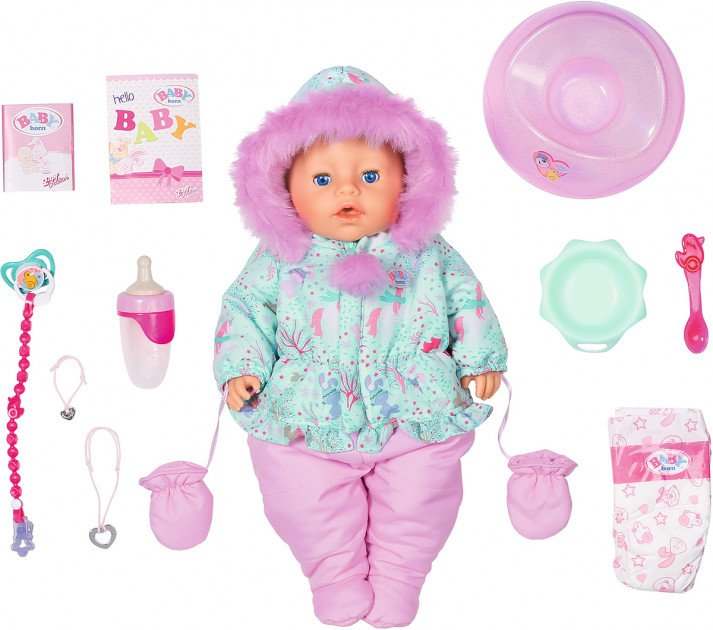 Baby born - Soft Touch Winter Edition (827529)