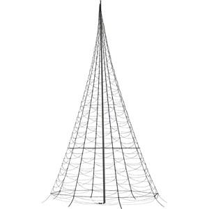 Julbelysning Fairybell Flaggstångsbelysning 10 meter, 2000 LED