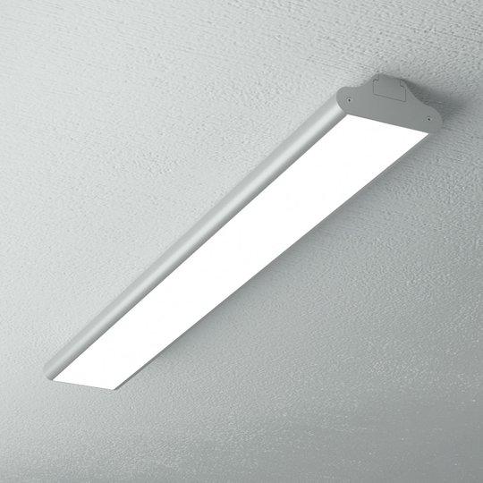 Toimiston pitkänomainen LED-kattolamppu Lexine